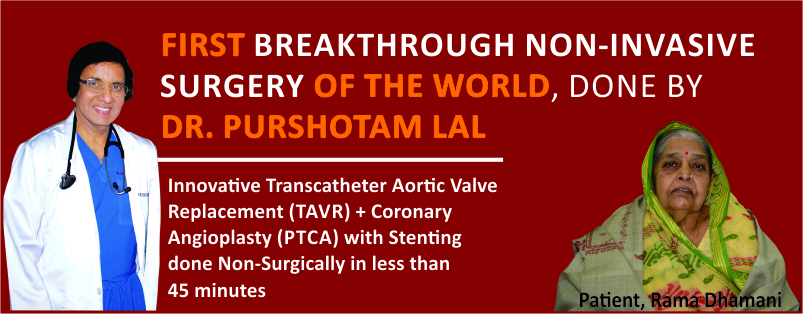 First Case in the World, TAVR + PTCA