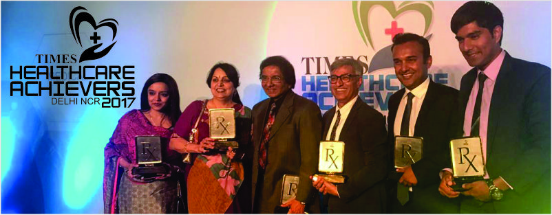 Metro Group of Hospitals bags 6 awards in Times HealthCare Achievers Awards 2017